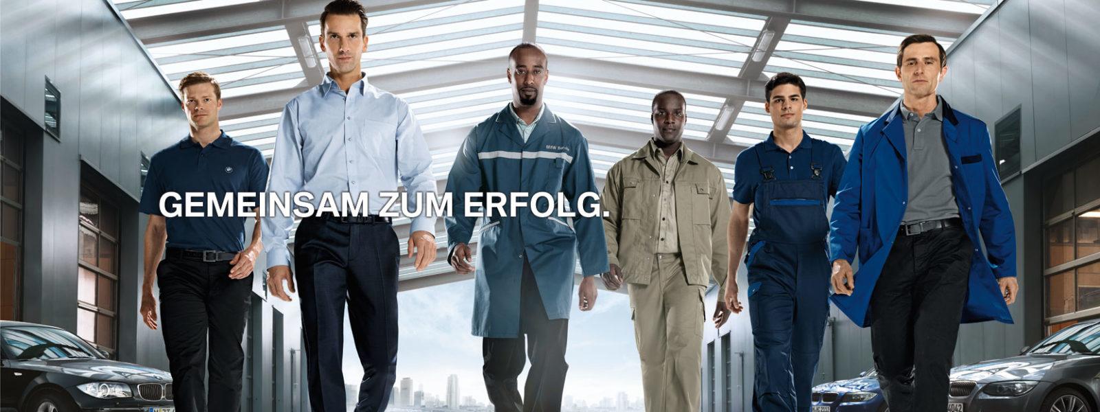 Berufe beim BMW Händler