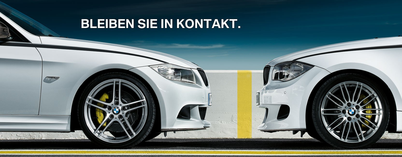 Bleiben Sie in Kontakt. Job-Newsletter. BMW.