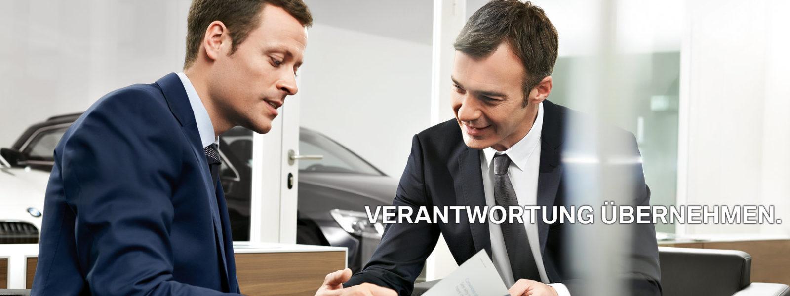 Verkaufsleiter bei BMW